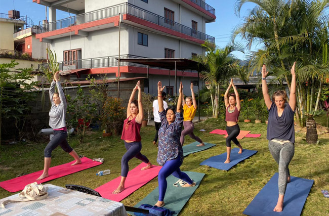 200 Hour Yoga Teacher Training In Nepal